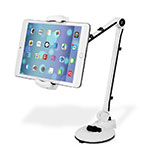 Flexible Tablet Stand Mount Holder Universal H01 for Apple iPad 3 White