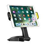 Flexible Tablet Stand Mount Holder Universal K03 for Samsung Galaxy Tab S2 8.0 SM-T710 SM-T715 Black