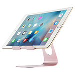 Flexible Tablet Stand Mount Holder Universal K15 for Huawei MediaPad X2 Rose Gold
