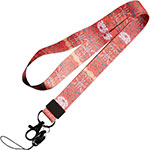 Lanyard Cell Phone Neck Strap Universal N02 Red