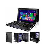 Leather Case Flip Cover for Asus Transformer Book T300 Chi Black