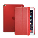 Leather Case Stands Flip Cover for Apple iPad Pro 12.9 Red