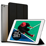 Leather Case Stands Flip Cover for Apple New iPad Pro 9.7 (2017) Black