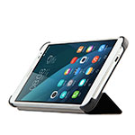 Leather Case Stands Flip Cover for Huawei MediaPad X2 Black