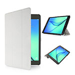 Leather Case Stands Flip Cover for Samsung Galaxy Tab S2 8.0 SM-T710 SM-T715 White