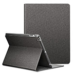 Leather Case Stands Flip Cover L02 for Apple iPad 4 Black