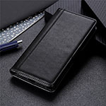 Leather Case Stands Flip Cover L02 Holder for OnePlus Nord N10 5G Black