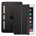 Leather Case Stands Flip Cover L05 for Apple iPad Mini 3 Black