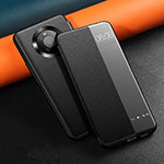 Leather Case Stands Flip Cover L12 Holder for Huawei Mate 40 Pro Black