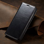 Leather Case Stands Flip Cover T01 Holder for Huawei P30 Pro Black