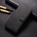 Leather Case Stands Flip Cover T04 Holder for Xiaomi Redmi Note 8 Pro Black