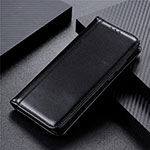 Leather Case Stands Flip Cover T05 Holder for Oppo Reno4 Pro 5G Black