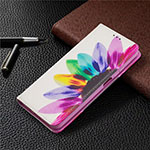 Leather Case Stands Flip Cover T05 Holder for Xiaomi Mi 10T Lite 5G Colorful