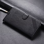 Leather Case Stands Flip Cover T07 Holder for Xiaomi Mi 9T Pro Black