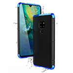 Luxury Aluminum Metal Cover Case for Huawei Mate 20 Blue