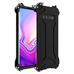 Luxury Aluminum Metal Cover Case T01 for Samsung Galaxy S10 Black