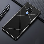 Luxury Aluminum Metal Cover Case T02 for Huawei Mate 20 Black