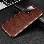 Luxury Aluminum Metal Cover Case T02 for Huawei P40 Pro+ Plus Brown