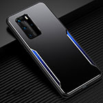Luxury Aluminum Metal Cover Case T03 for Huawei P40 Pro Blue