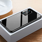 Luxury Aluminum Metal Frame Mirror Cover Case 360 Degrees N01 for Huawei P40 Pro Black