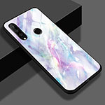 Silicone Frame Fashionable Pattern Mirror Case Cover K01 for Huawei P30 Lite Colorful