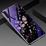 Silicone Frame Flowers Mirror Case Cover K01 for Samsung Galaxy Note 10 Plus 5G Mixed