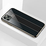 Silicone Frame Mirror Case Cover F01 for Apple iPhone 11 Pro Max Black