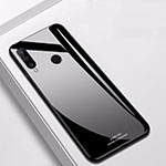Silicone Frame Mirror Case Cover for Huawei P30 Lite Black