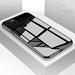 Silicone Frame Mirror Case Cover M01 for Apple iPhone 11 Pro Black