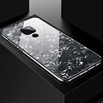 Silicone Frame Mirror Case Cover T01 for Huawei Mate 20 Black