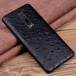 Soft Luxury Leather Snap On Case Cover R02 for Xiaomi Mi 9T Pro Black