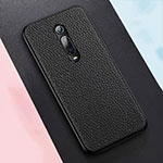Soft Luxury Leather Snap On Case Cover R05 for Xiaomi Mi 9T Pro Black
