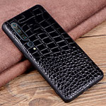 Soft Luxury Leather Snap On Case Cover S06 for Xiaomi Mi 10 Pro Black