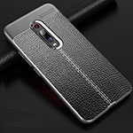Soft Silicone Gel Leather Snap On Case Cover H03 for Xiaomi Mi 9T Pro Gray