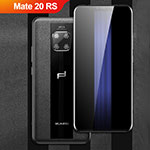 Soft Silicone Gel Leather Snap On Case Q01 for Huawei Mate 20 RS Black