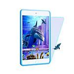 Tempered Glass Anti Blue Light Screen Protector F02 for Apple iPad Pro 9.7 Blue