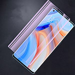 Tempered Glass Anti Blue Light Screen Protector Film B01 for Oppo Reno4 Pro 5G Clear