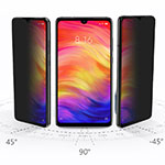 Tempered Glass Anti-Spy Screen Protector Film for Xiaomi Redmi Note 8 Clear