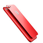 Tempered Glass Back Protector Film for Apple iPhone SE (2020) Red