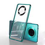 Transparent Crystal Hard Rigid Case Back Cover S01 for Huawei Mate 30 Pro 5G Green