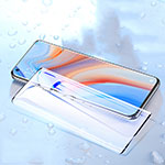 Ultra Clear Anti Blue Light Full Screen Protector Tempered Glass for Oppo Reno4 Pro 5G Black
