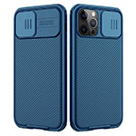Ultra-thin Silicone Gel Soft Case 360 Degrees Cover C01 for Apple iPhone 12 Pro Blue