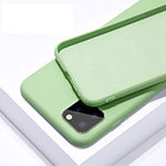 Ultra-thin Silicone Gel Soft Case 360 Degrees Cover C02 for Apple iPhone 11 Pro Green