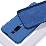 Ultra-thin Silicone Gel Soft Case 360 Degrees Cover C02 for Xiaomi Mi 9T Pro Blue