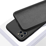 Ultra-thin Silicone Gel Soft Case 360 Degrees Cover C05 for Apple iPhone 11 Pro Black
