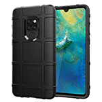 Ultra-thin Silicone Gel Soft Case 360 Degrees Cover for Huawei Mate 20 Black