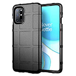 Ultra-thin Silicone Gel Soft Case 360 Degrees Cover for OnePlus 8T 5G Black