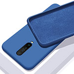 Ultra-thin Silicone Gel Soft Case 360 Degrees Cover S01 for Xiaomi Redmi K30 5G Blue