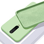 Ultra-thin Silicone Gel Soft Case 360 Degrees Cover S01 for Xiaomi Redmi K30 5G Green