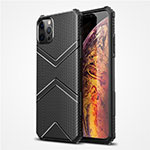 Ultra-thin Silicone Gel Soft Case 360 Degrees Cover S02 for Apple iPhone 12 Pro Black